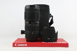 Sigma 70-200mm F2.8 APO EX DG II Canon