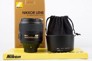 Nikon 105mm f1.4 E ED
