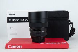 Sigma 14-24mm f2.8 ART DG Canon
