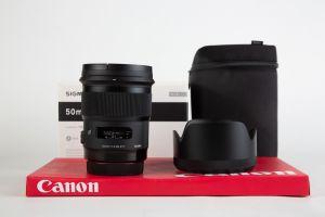 Sigma 50mm f1.4 ART Canon