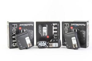 PocketWizard - Kit per flash Canon E-TTL composto da 1 trasmettitore MiniTT1, 2 unità riceventi FlexTT5 e 1 controllo di zona AC3.